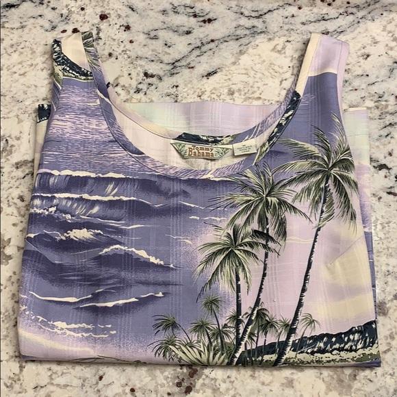 Tommy Bahama Tops - Tommy Bahama Silk Tank Size M EUC